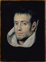 Портрет монаха (ок.1610) (35 x 26) (Мадрид, Прадо)