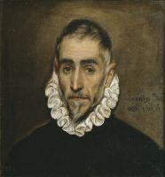 Портрет пожилого дворянина (1587-1600) (46 x 43 ) (Мадрид, Прадо)