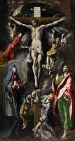 Распятие (1596-1600) (312 x 169 ) (Мадрид, Прадо)