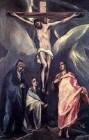 Распятие с предстоящими (ок.1588) (Афины, Нац. галерея)