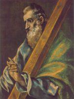 Св.Апостол Андрей (ок.1610) (Будапешт, Музей изобр.искусства)