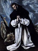 Св.Доминик на молитве (ок.1588) (частная коллекция)