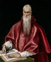 Св.Иероним в кардинальском облачении (ок.1610) (Нью-Йорк, Метрополитен)