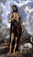 Св.Иоанн Креститель (ок.1600) (Сан-Франциско, Музей изобр.искусства)
