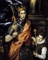 Св.Людовик, король Франции и паж (ок.1590) (Париж, Лувр)