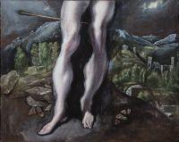 Св.Себастьян (ноги) (1610-1614) (91 x 115) (Мадрид, Прадо)