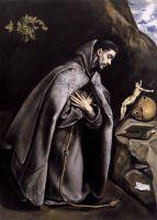 Св.Франциск на молитве (ок.1595) (Сан-Франциско, Музей изобр. искусств).