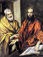 Свв.Апостолы Пётр и Павел (1605-1608) (Стокгольм, Нац.галерея)