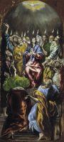 Сошествие Святого Духа (1596-1600) (275 x 127) (Мадрид, Прадо)