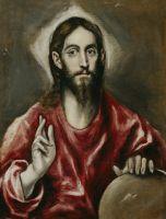 Христос-Вседержитель (1610-1614) (72 x 55) (Мадрид, Прадо)