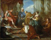 Иосиф представляет своего отца и своих братьев фараону (ок.1723) (США, Южная Каролина, Колумбия, Музей искусства)