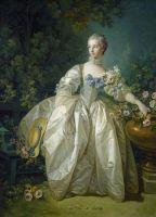 Мадам Бержере (ок.1766) (143.5 x 105.4) (Вашингтон, Нац. галерея)