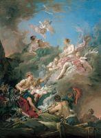 Вулкан дарит оружие Венере (1769)