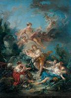 Меркурий вручает младенца Бахуса нифме Нисе (1769)