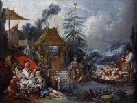 Жизнь китайцев (1742) (Безансон, Музей изящн.искусств)