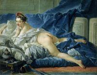 Одалиска (1745) (53 x 64) (Париж, Лувр)