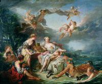 Похищение Европы (1747) (160 x 193) (Париж, Лувр)