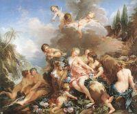 Похищение Европы (1732-1734) (231 x 274) (Лондон, Собрание Уоллеса)