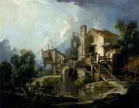 Мельница в Шарентоне (1750-е) (72 х 92) (Орлеан, Музей изящ.искусств)