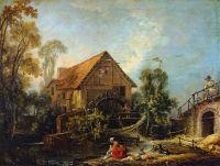 Мельница (1751) (66 х 84) (Париж, Лувр)