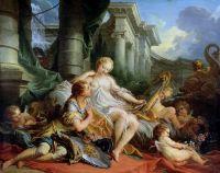 Ринальдо и Армида (1734) (135,5 x 170,5) (Париж, Лувр)