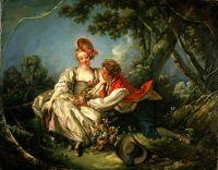 Четыре времени года. Осень (1755) (56.5 ? 73) (Нью-Йорк, коллекция Фрик)