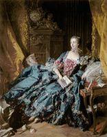Портрет маркизы де Помпадур, 1721-1764 (1756) (201 х 157) (Мюнхен, Старая пинакотека)
