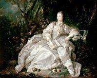Портрет маркизы де Помпадур, 1721-1764 (1758) (72.5 х 57) (Лрндон, Музей Виктории и Альберта)