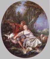 Пастух и пастушка на отдыхе (1761) (Вашингтон, Нац. галерея)