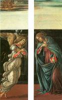 Благовещение (1495-1498) (45 х 13) (Москва, ГМИИ им.Пушкина)