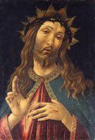 Христос в терновом венце (ок.1500) (48 x 32) (Бергамо, Академия Каррара)