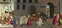 Три чуда св.Зиновия (1500-1504) (65 x 139,5) (Лондон, Нац.галерея)