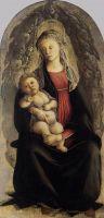 Мадонна с младенцем в славе (1469-1470) (120 x 65) (Флоренция, Уффици)