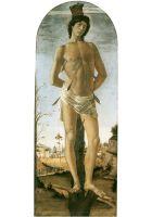 Св.Себастьян (ок.1473) (195 x 75) (Берлин, Гос.музей)