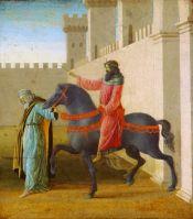 История Эсфири. Триумф Мардохея (1470-1475) (48,3 x 43,2) (Оттава, Нац.галлерея Канады)