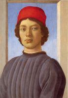 Портрет юноши в красной шапке (ок.1477) (51 x 36) (Вашингтон, Нац.галлерея)
