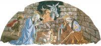 Рождество Христово (1476-1477) (200 х 300) (Флоренция, мон-рь Санта Мария Новелла)