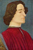 Портрет Джулиано де Медичи (ок.1478-1480) (54 x 36) (Берлин, Гос.музей)