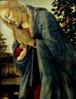 Поклонение младенцу Христу (ок.1482) (95 см)_деталь