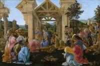 Поклонение волхвов (1481-1482) (70 х 103) (Вашингтон, Нац.галерея)