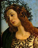 Паллада и кентавр (1482-1483) (205 х 147.5) (Флоренция, Уффици)_деталь