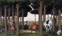 Новелла о Настаджио дельи Онести (ок.1483) (82 х 138) (Мадрид, Прадо)