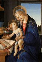 Мадонна дель Либро (ок.1483) (58 х 40) (Милан,  Музей Полди Пеццоли)