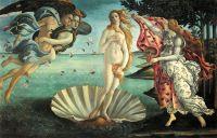 Рождение Венеры (ок.1485) (280 х 180) (Флоренция, Уффици)