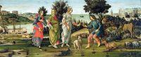 Суд Париса (ок.1485) (Венеция, галлерея Джорджио Чини)