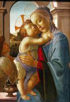 Мадонна с младенцем (1475-1485) (Чикаго, Институт искусства)