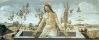 Алтарь Сан Барнаба. Пределла. Христос в могиле (21 х 41)