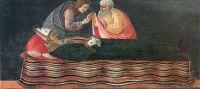 Алтарь Сан Барнаба. Пределла. Извлечение сердца из св.Игнатия Богоносца (21 х 40.5)
