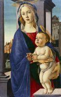Мадонна с младенцем (ок.1490) (88.9 cm x 55.88) (Гарвардский университет, коллекция Фогга)