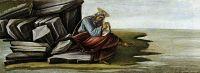Алтарь 'Сан Марко'. Пределла. Св.Иоанн Богослов на Патмосе (21 х 269)